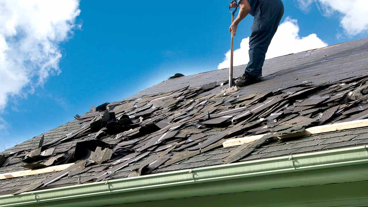 Signs That You Need a Roof Replacement - Working on roof top